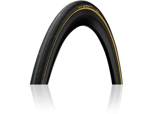 Continental Ultra Sport III Performance Vouwband 700x23C, black/yellow
